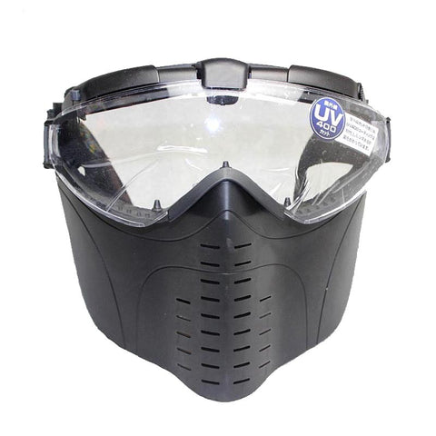 Tactical Full Face Mask with Goggle - Weekend Tactial Supply