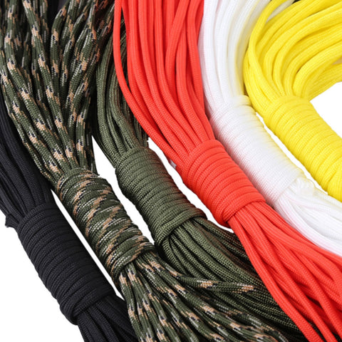 Paracord Parachute Cord 7 Core Rope 10M/33FT Survival Equipment - 6 Color Options - Weekend Tactial Supply