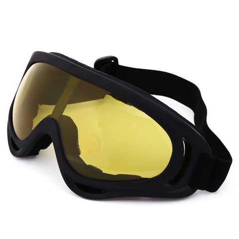 Non-polarized UV400 Anti-fog Big Mask Goggles - 4 Color Options - Weekend Tactial Supply