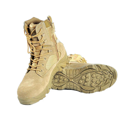 Men's Delta Military Style Tactical Combat Boots - 2 Colors Available - Weekend Tactial Supply