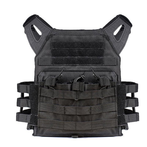Tactical Vest 600D Nylon Molle System - 8 Color Options - Weekend Tactial Supply