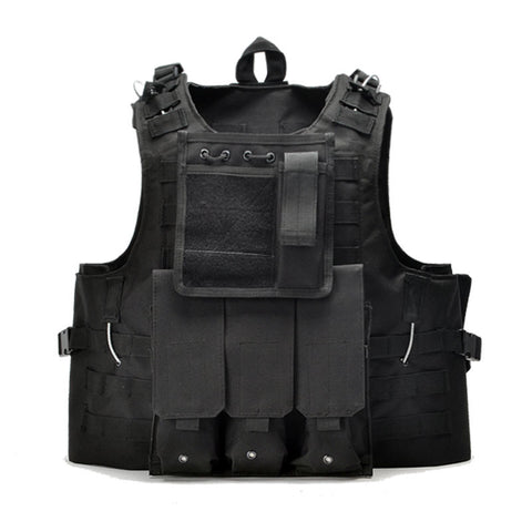 Tactical Military Style Vest Molle System With Pouches - Weekend Tactial Supply