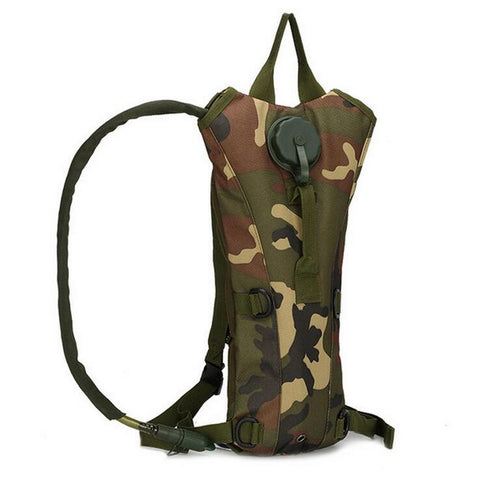 Military Style Water Bladder Hydration Pack - 6 Color Options - Weekend Tactial Supply
