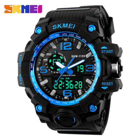 Waterproof to 30M LED Outdoor Sport Watch - 4 Color Options - Weekend Tactial Supply