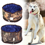 Collapsible Pet Camping Food Water Bowl - Weekend Tactial Supply