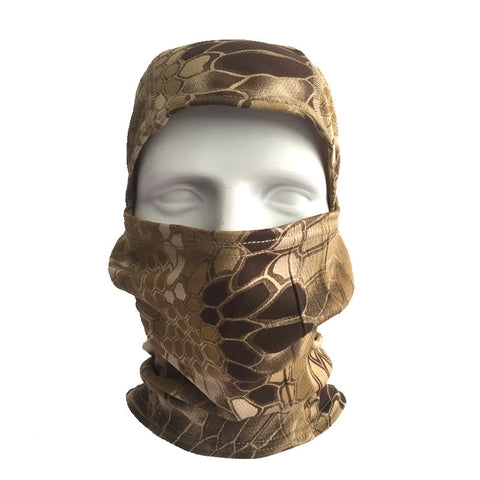 Tactical Hunting Head Cover and Face Mask - 7 Color Options - Weekend Tactial Supply