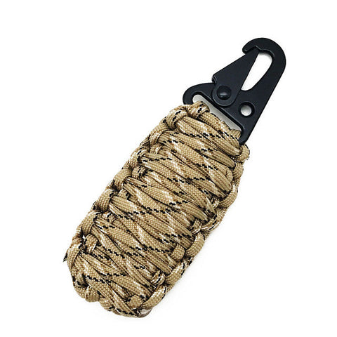 Outdoor Survival Kit Wrapped in Paracord - Weekend Tactial Supply