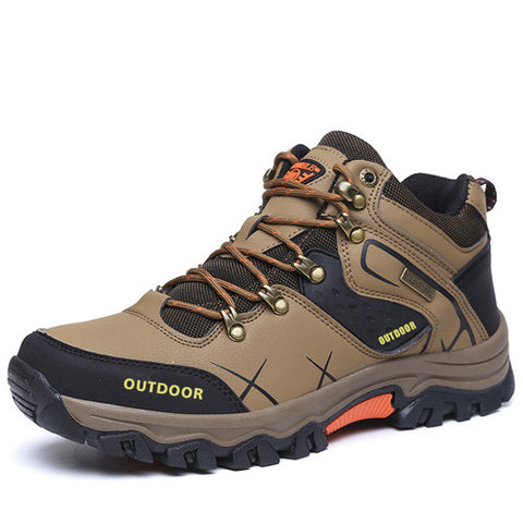 Men's Hiking Waterproof Hiking Boots - 2 Color Options - Weekend Tactial Supply