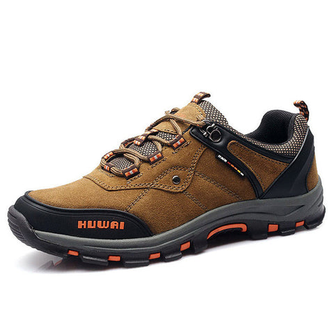 Men's Leather Hiking Shoes - 2 Color Options - Weekend Tactial Supply