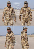 Tactical Python Grain Camouflage Hunting Jacket Men - 3 Color Options - Weekend Tactial Supply