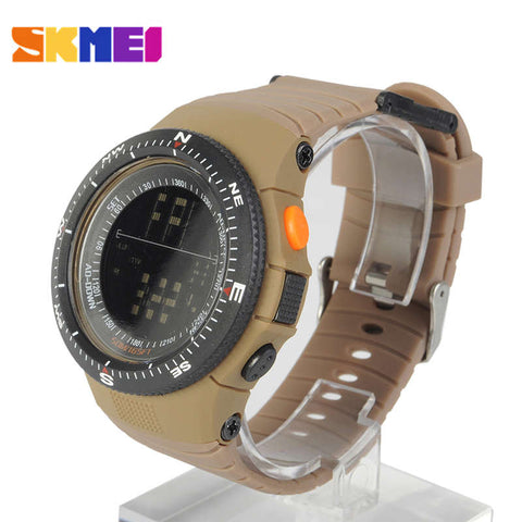 Skmei Sport Digital Wrist Watch Shockproof Waterproof Led - 2 Color Options - Weekend Tactial Supply