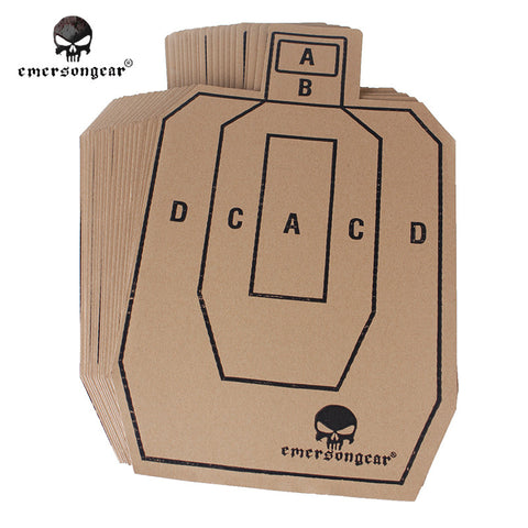 Paper Shooting Target 20 Pack - Weekend Tactial Supply