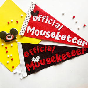 Mouseketeer Penndants