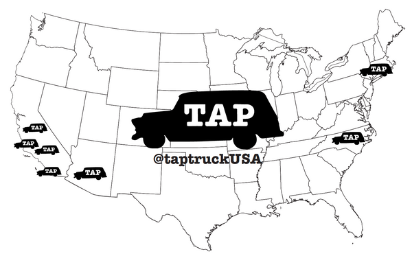 Tap Truck US Map