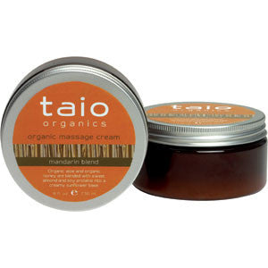 Taio Organic Massage Cream Mandarin Blend 8oz.