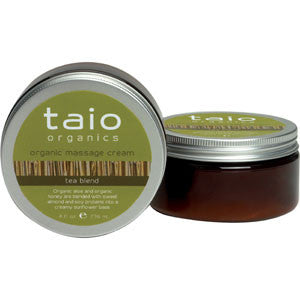 Taio Organic Massage Cream Tea Blend 8oz.