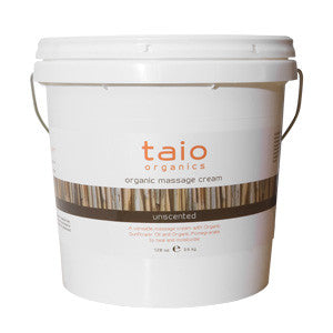 Taio Unscented Massage Cream 128 oz