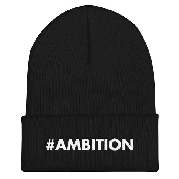 #AMBITION Beanie (Black)