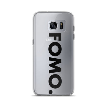 FOMO Samsung Phone Case (black)