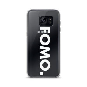 FOMO Samsung Phone Case (white)
