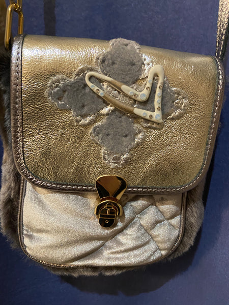Silver & Gold crossbody