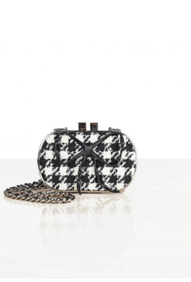Hounds Tooth Clutch