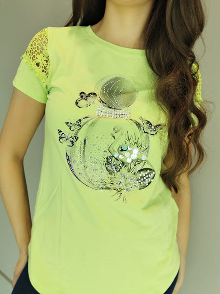 Lime Statement perfume Top