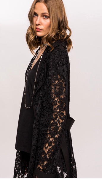 Long Lace Jacket