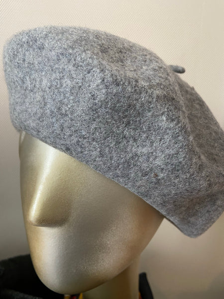 Flannel Grey Beret