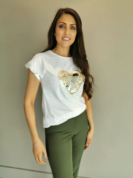 Neutral hearts Top