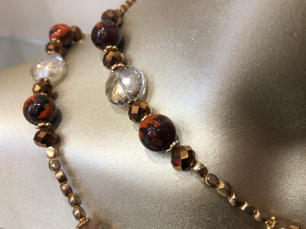 Luxurious Amber Necklace