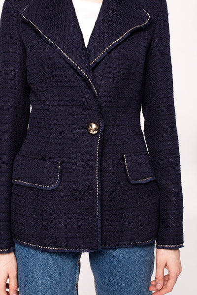 Spring Summer 2020 Navy Jacket