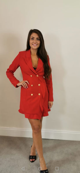"Red Blazer Dress ""Special Offers """