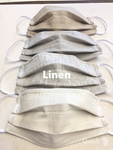 Linen Face Masks