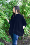 Park City Sweater Poncho - april-marin