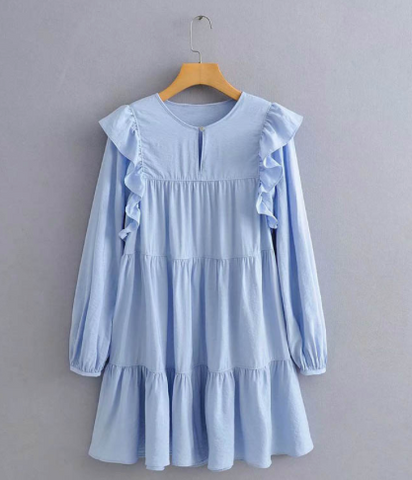 Dorset Tiered Ruffle Dress
