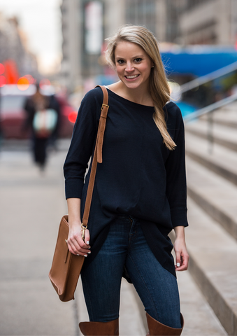 Soho Shirttail Sweater