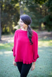Westport Ruffle Sweater - april-marin