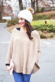Lincoln Sweater Poncho - april-marin