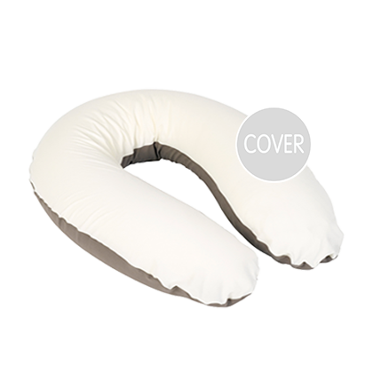 Buddy Cover Taupe White