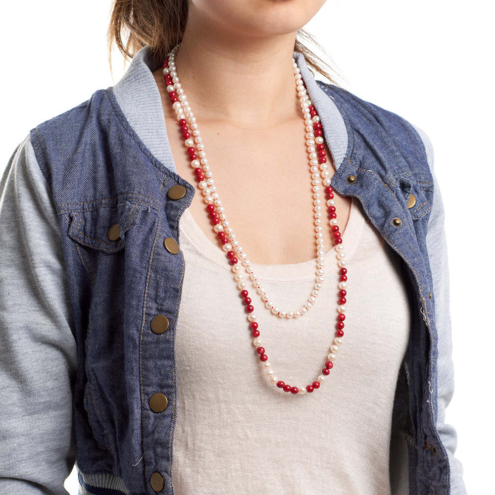 Endless Love Necklace - Red