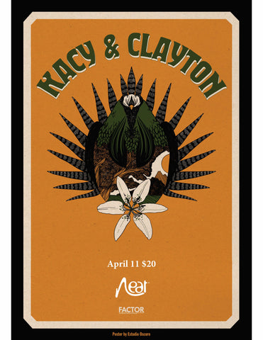 Kacy and Clayton April 11 $20