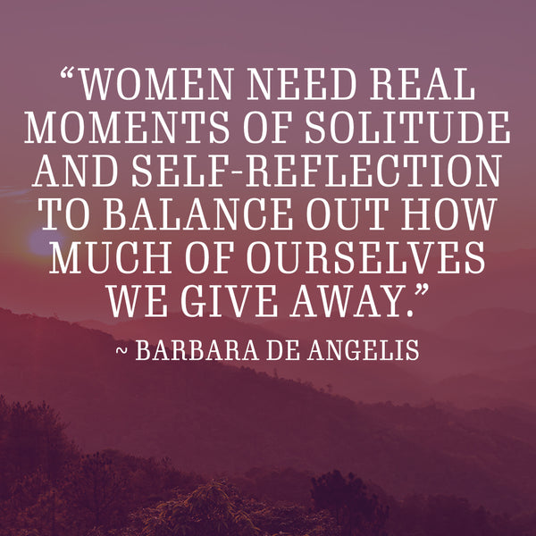 Recipes and ramblings solitude meditation blend quote