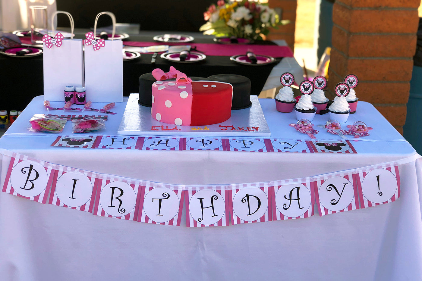 Minnie Mouse Inspired Party