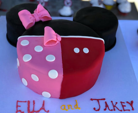 Tips for a twin birthday party inspired by Mickey & Minnie