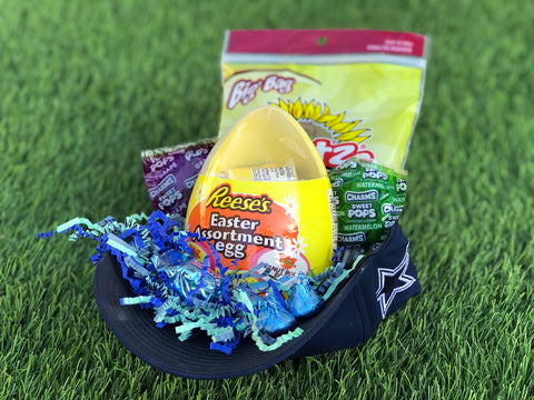 baseball cap Easter basket