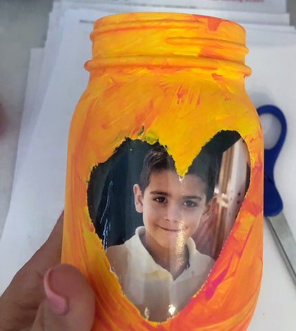 photo in mason jar