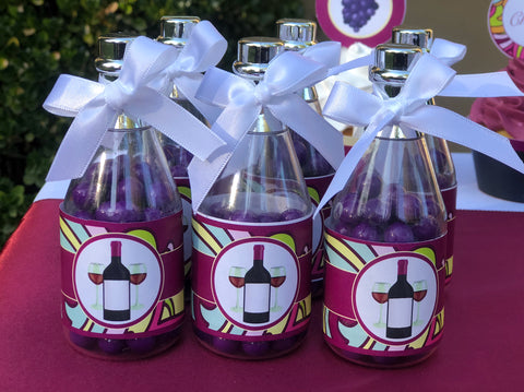 party favors bottles