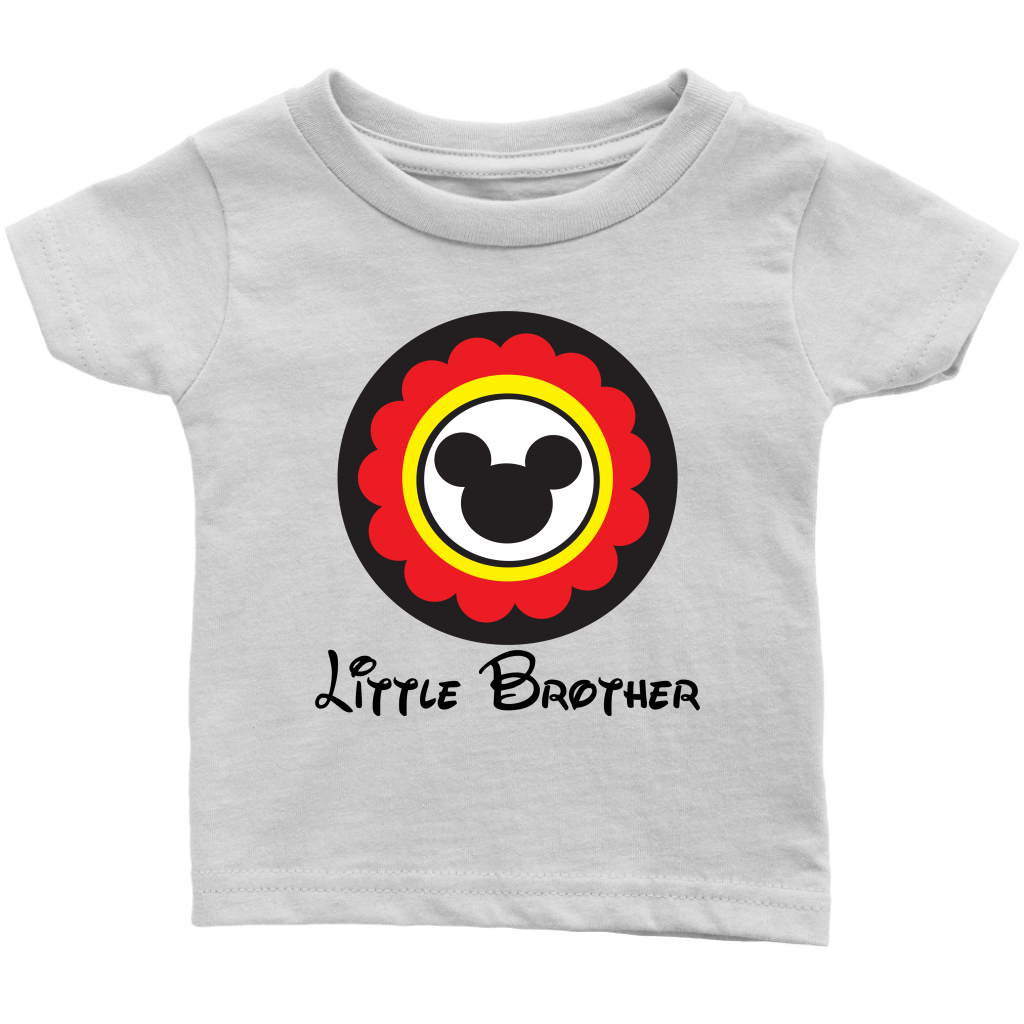 Mickey Mouse Inspired Little Brother Infant T-Shirt