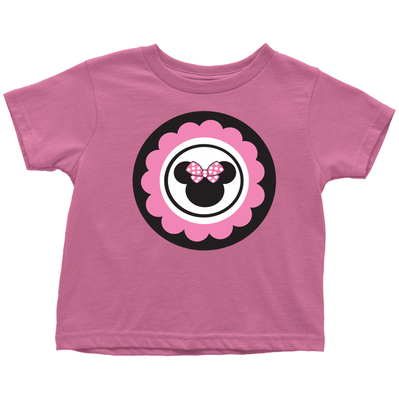 Minnie Mouse Inspired Toddler T-shirt